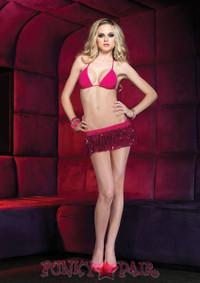 Bikini and Sequin Skirt Set * 28047