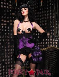 Satin underwire cupless corset * 86512