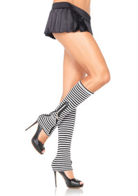 3918, Skull Zipper Leg Warmers