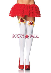 6121, Sequin Poison Apple Thigh High