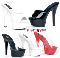 601-Vanity, 6 Inch High Heel with 1.75 Inch Platform Exotic Dancer Shoes Made by ELLIE Shoes
