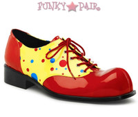 1 inch Clown shoes lace up * Clown-12