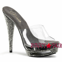 Sparkle-601, 5.75 Inch High Heel with 1.5 Inch Platform Slide
