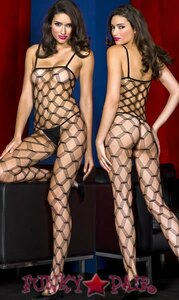 Hardcore Net Bodystocking * ML-1421