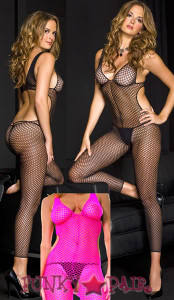 Crochet Cut Out Footless Tights * ML-1395