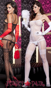 All-In-One Fence Bodystocking * ML-1223