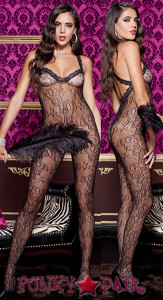 Cross Back Bodystocking * ML-1323