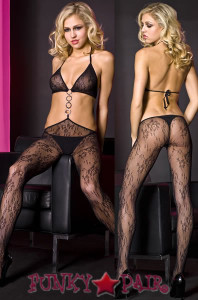 O-Ring Chain Bodystocking * ML-1423