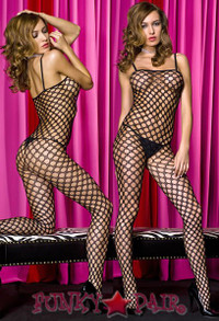 Crochet Pothole Bodystocking * ML-1289