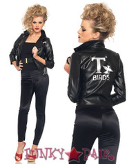 Bad Sandy T-Birds faux leather jacket
