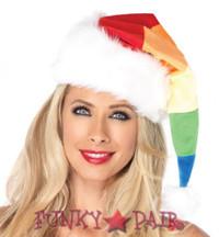 Rainbow Santa Hat * 2024