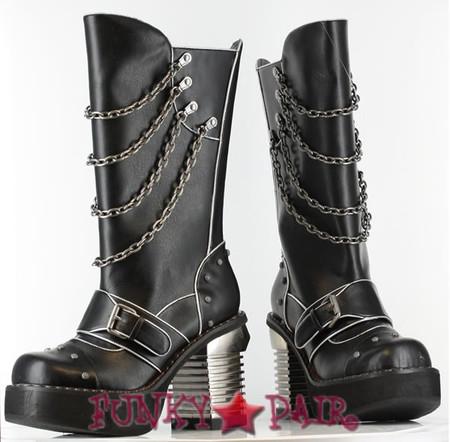 Krull, 3.5 Inch chunky steampunk heel