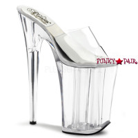 "SOL-901-O, 9 inch high heel with 5.25 inch platform Slide ""O"" Shape Heel ""SOL"""