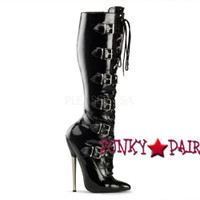 High Heel Knee High Boots