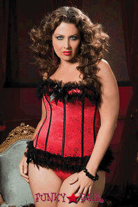 Plus Size Nobody Does It Better Bustier * STM-9384X