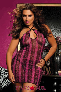 Plus Size Walk On The Wild Side Chemise * STM-9386X