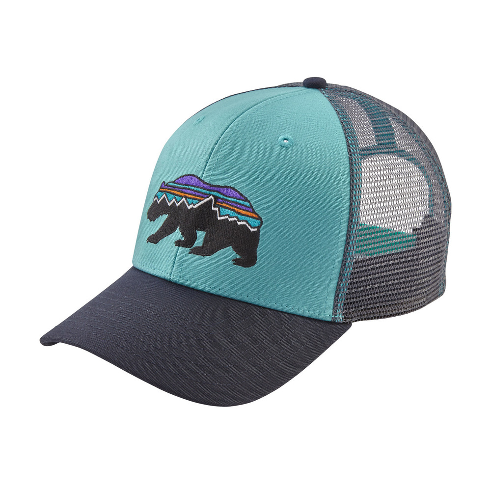 Fitz Roy Bear Trucker Hat Crevasse Blue ALL