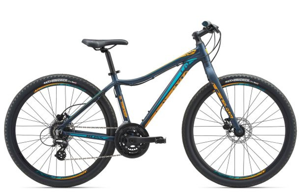 Bliss Lite 27.5 M Matte Dark Blue/Orange/Teal