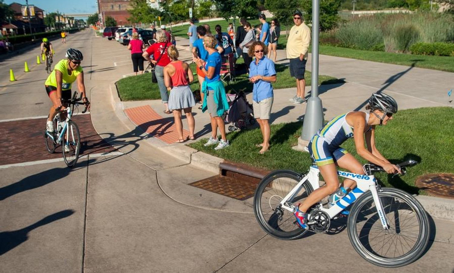 The Peoria Triathlon - Hosting an event on Peoria's Riverfront.