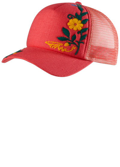 PrAna Embroidered Trucker Cosmo Pink O/S