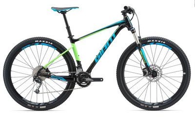Fathom 29er 2 M Black/Neon Green/Blue