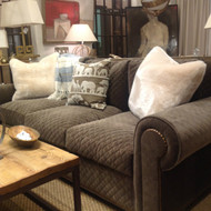 Alpine Mocha Quilted Sofa