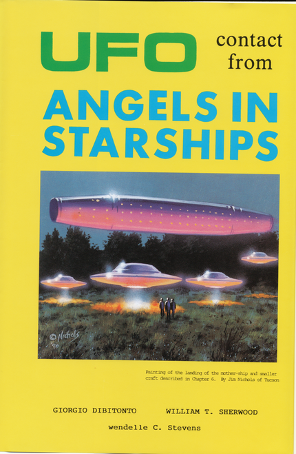UFO Contact from Angels in Starships