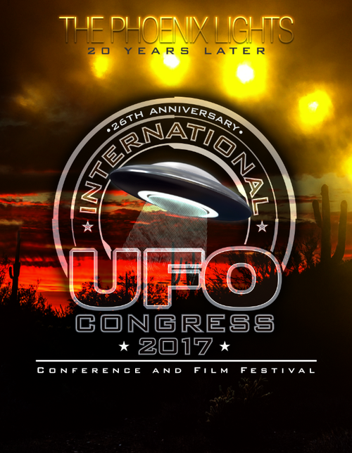 2017 INTERNATIONAL UFO CONGRESS DVD BOX SET (International Customers)