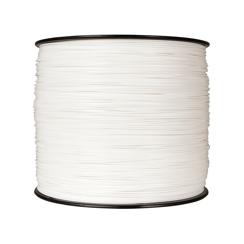 Makerbot PLA Filament - True White