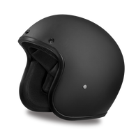 Daytona Cruiser 3/4 Open Face D.O.T. Helmet - Flat Black