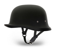 Daytona German Novelty Helmet - Flat Black