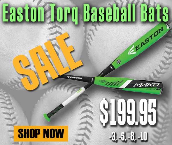 New Easton Mako Torq Senior League Baseball Bat