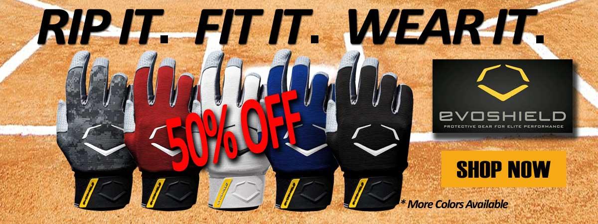 New Evoshield Gloves