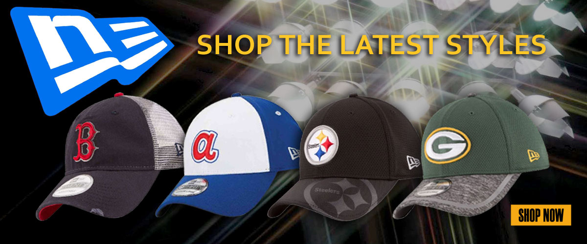 The Latest New Era Baseball Caps, Your Favorite Team in Stock and on Sale!