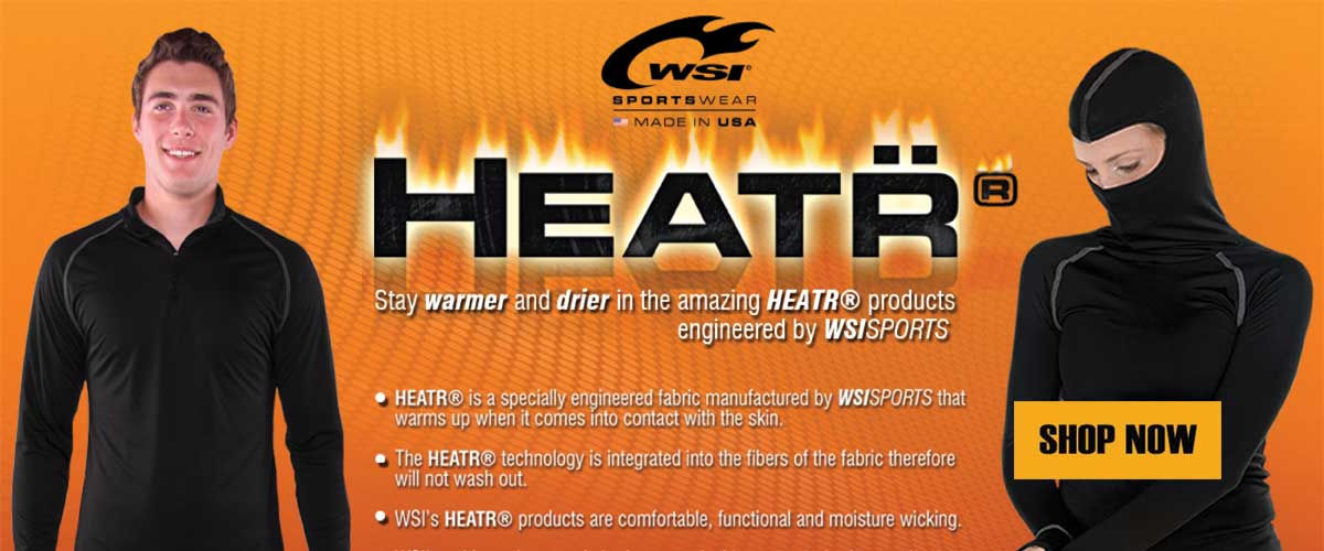 HeatR from WSI - Made in the USA - Stay Warmer and Drier