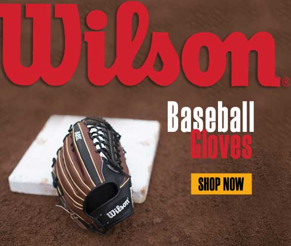 Wilson Gloves for all ages and level of play.