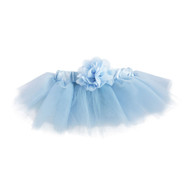 Blue Tutu with Flower