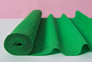 Kelly Green Italian Crepe Paper Roll & Table Runner