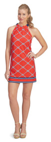 Mud Pie Natalie Medium Bow Tie Dress - Red