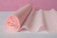 Bridal/Baby Pink Italian Crepe Paper Roll & Table Runner