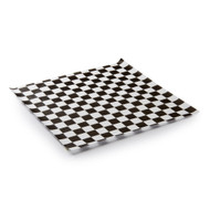 Black Check Deli Paper 100ct.