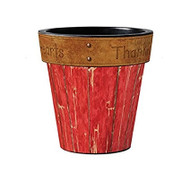 "Studio M Thankful 15"" Art Pot Planter"