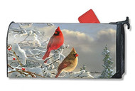 Winter Cardinals Mail Wrap