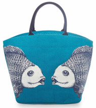 Mud Pie Deep Sea Icon Fish Tote
