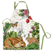 Michel Design Works Garden Bunny Chef Apron