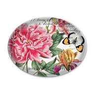 Michel Design Works Peony Glass Soap Dish