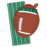 Football Potholder Gift Set