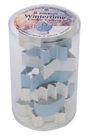 Snowflake Cookie Cutters - Set of 8