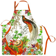 Michel Design Works Cotton Chef Apron, Autumn Harvest