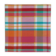 DII Malibu Madras Napkins - Set of 4
